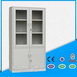 供应大器械柜 铁门玻璃门文件柜 工厂定做图片