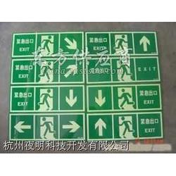 安全出口自发光夜光消防警示标志图片