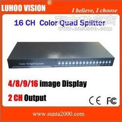 供应环通RS485彩色十六画面分处理器图片