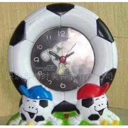 卡通足球闹钟篮球闹钟相框纪念品广告钟表批发采购图片