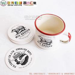 厂家直销优惠一次性可设计咖啡酒店酒吧餐馆纸杯垫图片
