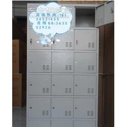 出售各种铁皮更衣柜 带锁储物柜 职员换衣柜 二十四门鞋柜图片