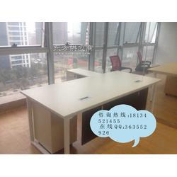 新款办公老板桌定做 厂家直接经理办公桌 带侧柜班台桌图片