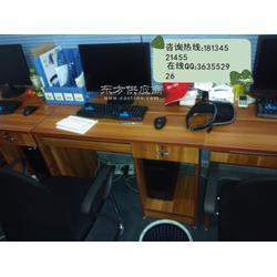 专业供应办公电脑桌 厂家定做职员桌 一米二独立办公桌图片