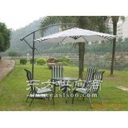 优质铁制边柱伞侧立伞香蕉伞单边伞花园伞图片